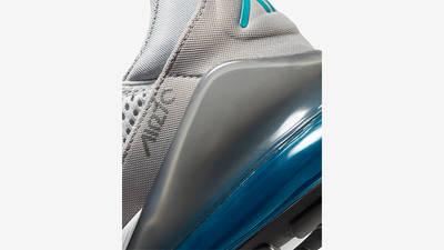 Nike Air Max 270 White Grey Blue Back Detail