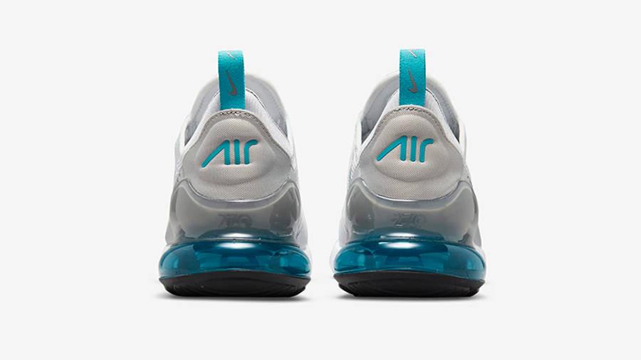 Nike Air Max 270 White Grey Blue Back