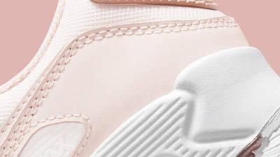 Nike Air Max 90 Barely Rose Pink Oxford Closeup
