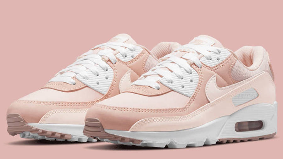 Nike Air Max 90 Barely Rose Pink Oxford Front