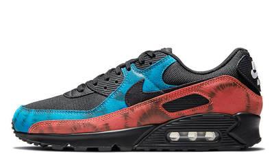Nike Air Max 90 Black Tie-Dye DJ6888-001