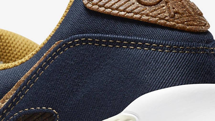 Nike Air Max 90 Cork Obsidian Closeup
