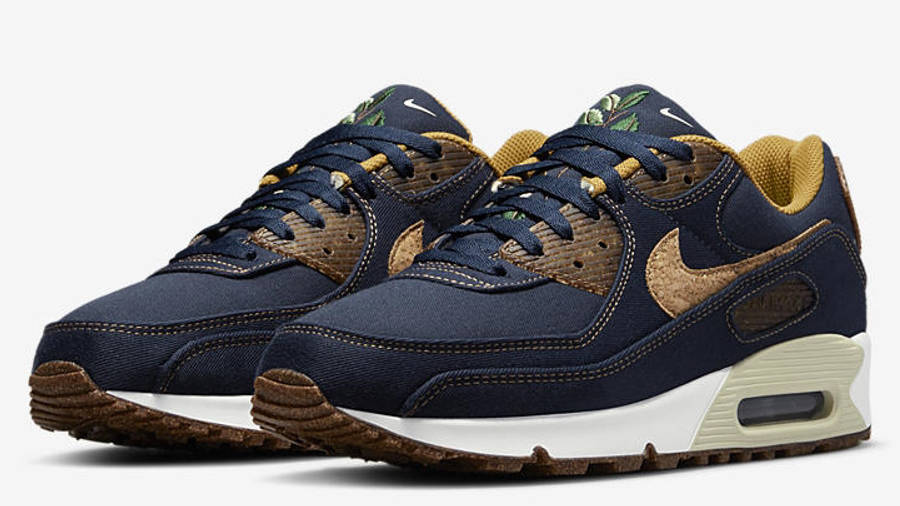 Nike Air Max 90 Cork Obsidian Front