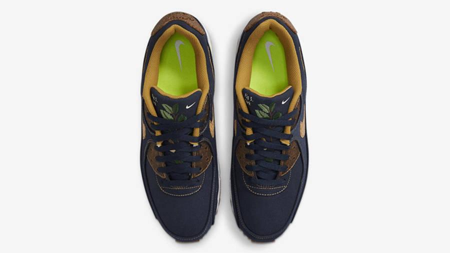 Nike Air Max 90 Cork Obsidian | Where To Buy | DD0385-400 | The ...