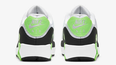 Nike Air Max 90 Golf White Flash Lime Back