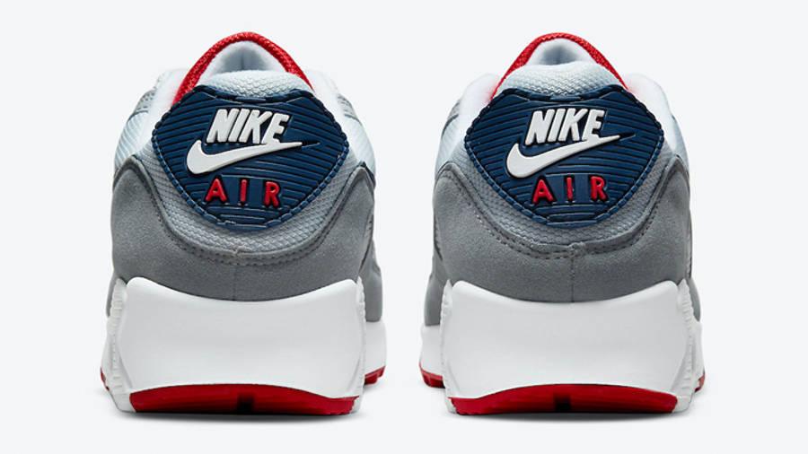Nike Air Max 90 Grey USA Back