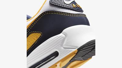 Nike Air Max 90 Michigan Navy Back Detail