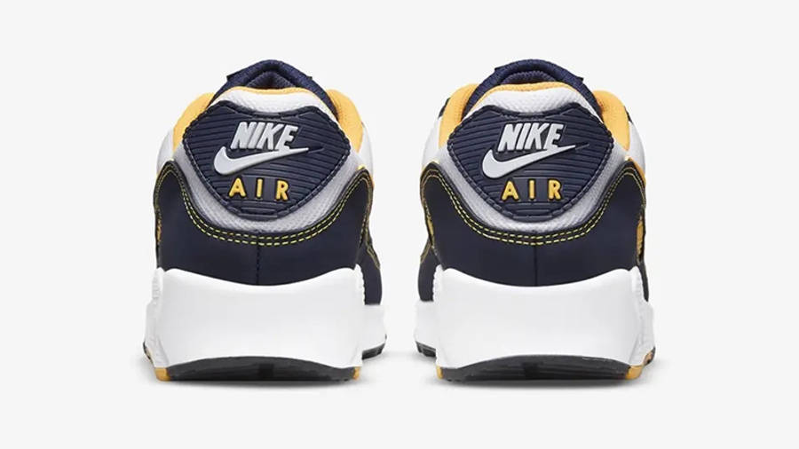 Nike Air Max 90 Michigan Navy Back