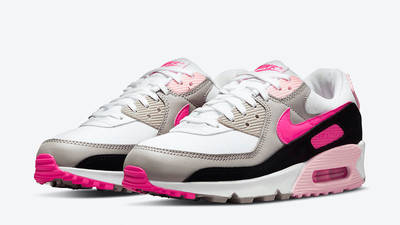 Nike Air Max 90 Pink Multi DM3051-100 front