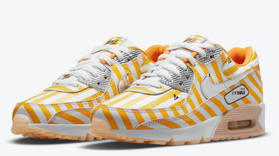 Nike Air Max 90 Swoosh Mart Fried Chicken Front