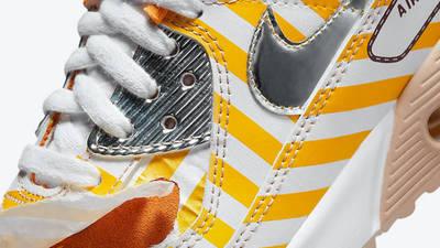 Nike Air Max 90 Swoosh Mart Fried Chicken Side Closeup