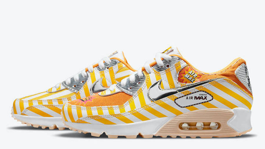 Nike Air Max 90 Swoosh Mart Fried Chicken Side