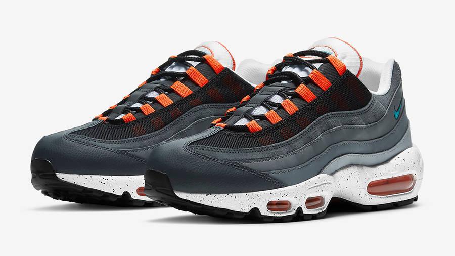 air max 95 orange et noir