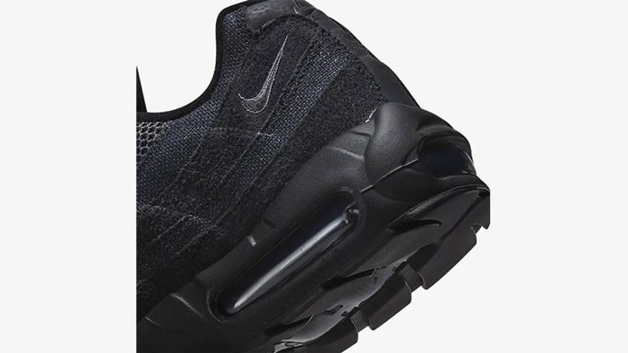 Nike Air Max 95 OG Black Iron Grey Back Detail