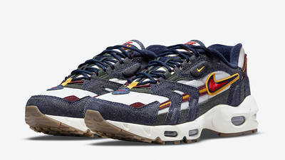 Nike Air Max 96 II Blackened Blue DJ6742-400 front
