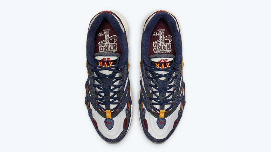 Nike Air Max 96 II Blackened Blue DJ6742-400 middle