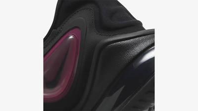 Nike Air Max Zephyr Black Raspberry Red Racing Blue Back Detail