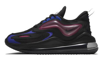 Nike Air Max Zephyr Black Raspberry Red Racing Blue
