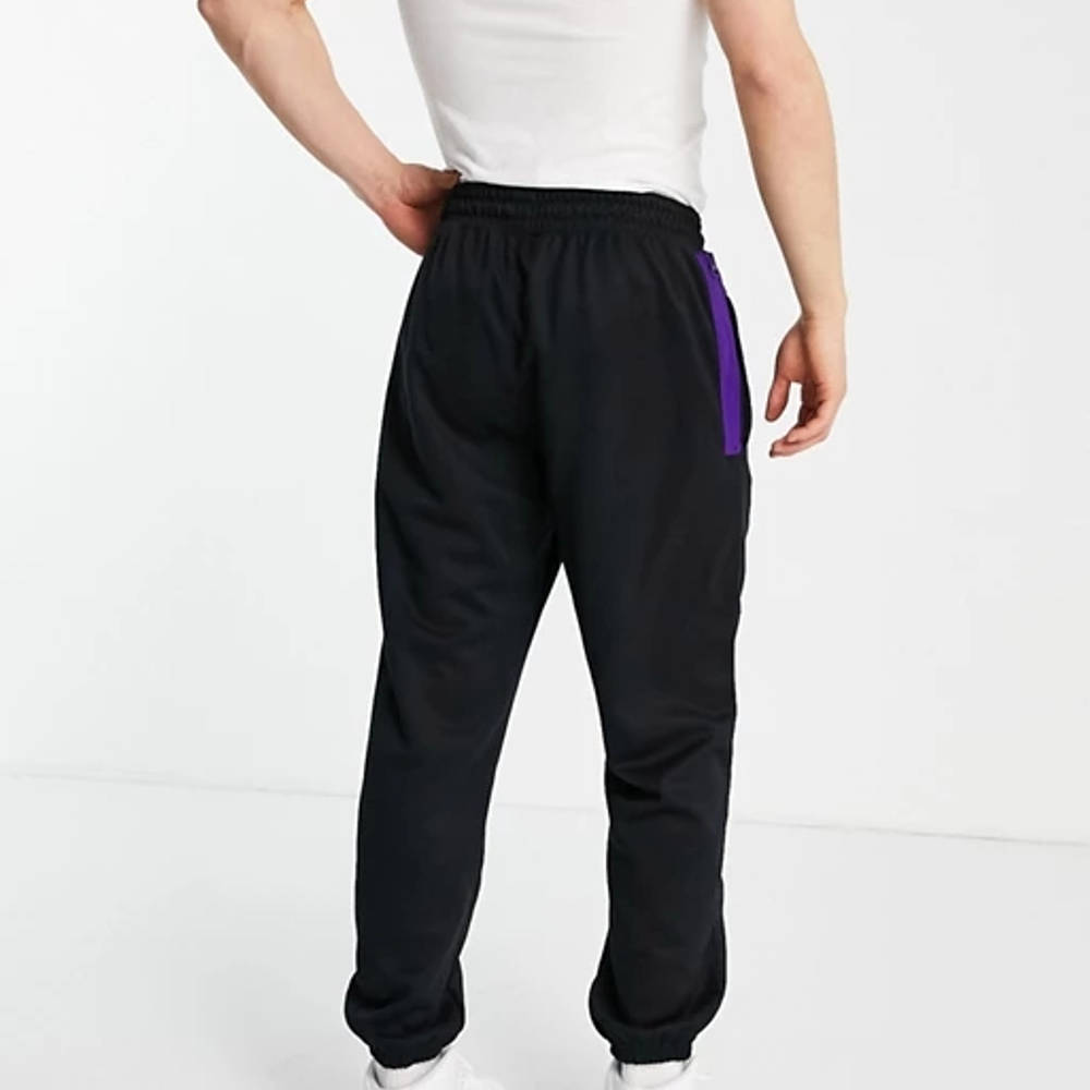 Nike Basketball LA Lakers NBA Joggers Back