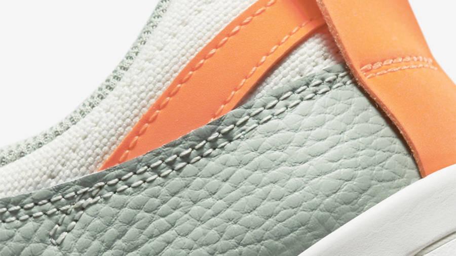 Nike Dunk Low Disrupt Sea Glass Crimson Closeup