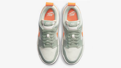 Nike Dunk Low Disrupt Sea Glass Crimson Middle