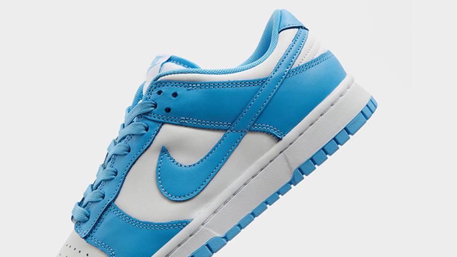 Nike Dunk Low UNC Blue DD1391-102 heel
