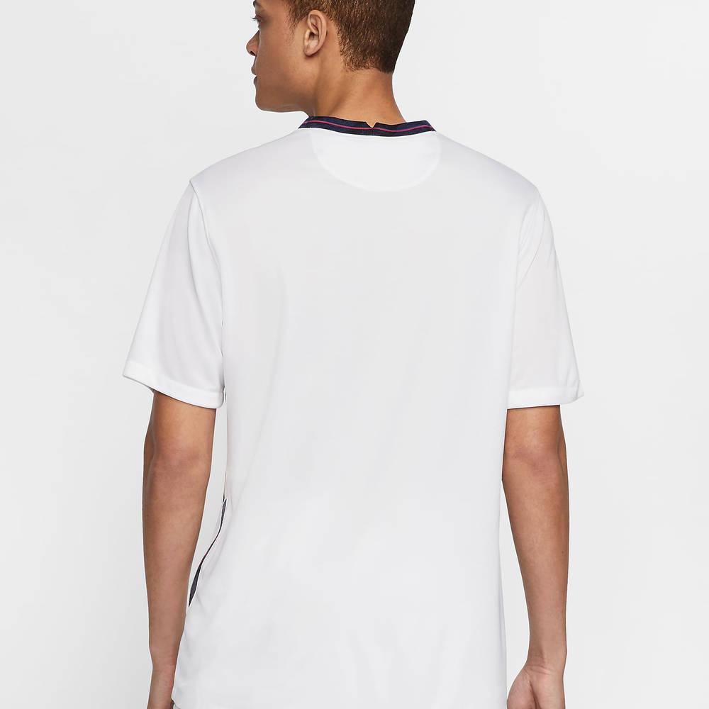 Nike England 2020 Stadium Home Football T-Shirt CD0697-100 Back