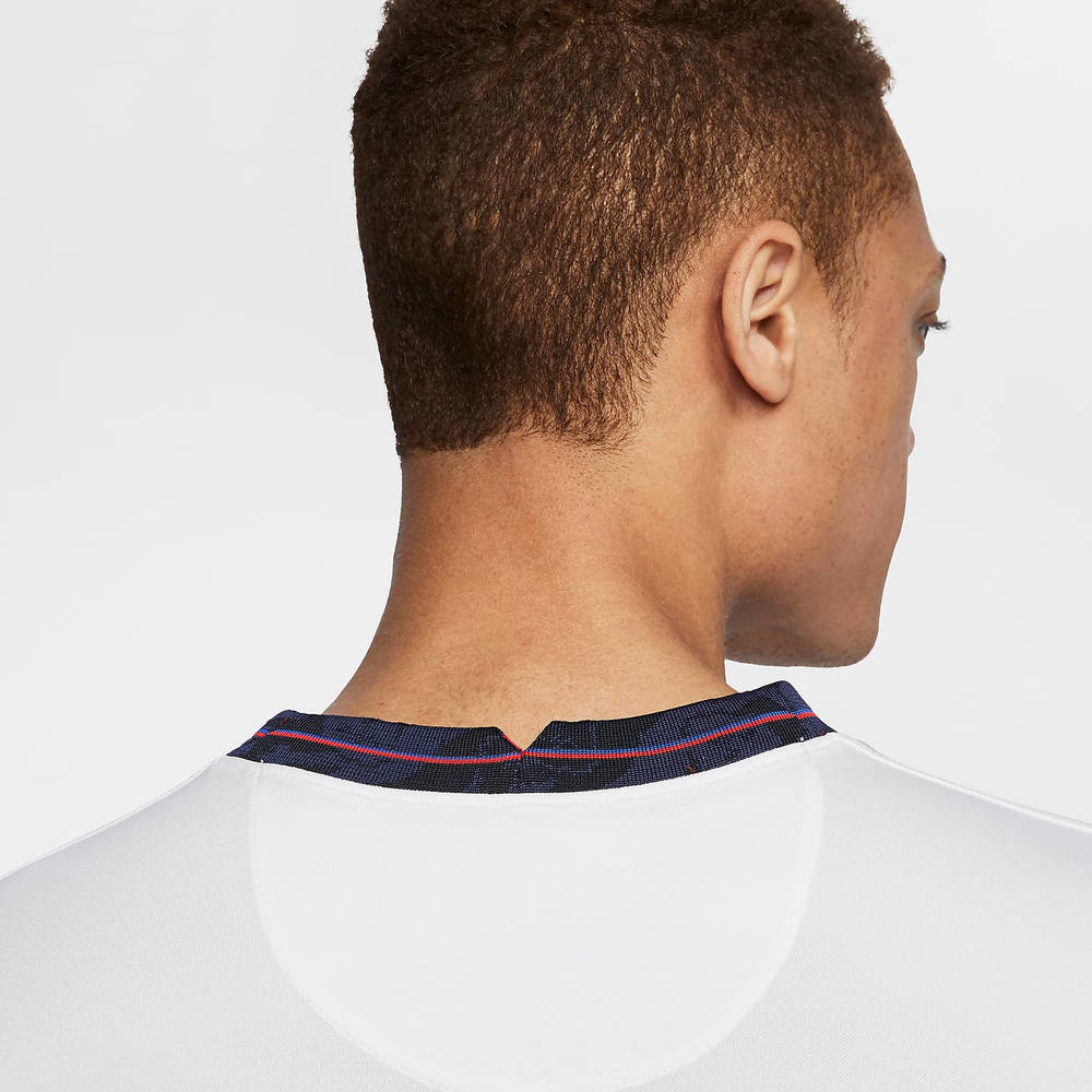 Nike England 2020 Stadium Home Football T-Shirt CD0697-100 Detail