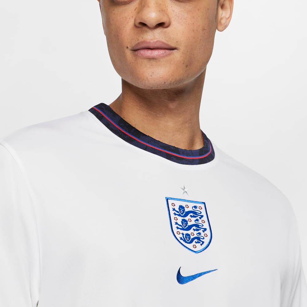 Nike England 2020 Stadium Home Football T-Shirt CD0697-100 Front