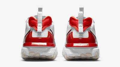 Nike React Vision Team Orange Red Back