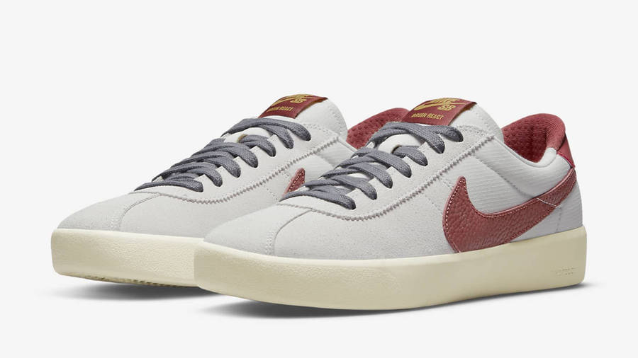 Nike SB Bruin React Team Red Front