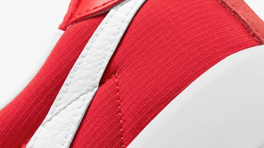 Nike SB Bruin React University Red Closeup