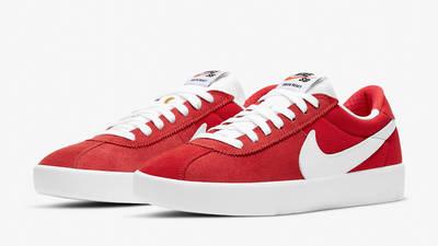 Nike SB Bruin React University Red Front