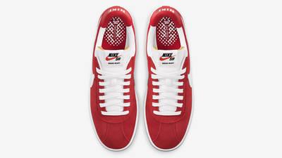 Nike SB Bruin React University Red Middle