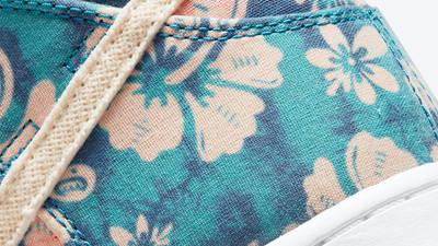 Nike SB Dunk High Hawaii Closeup