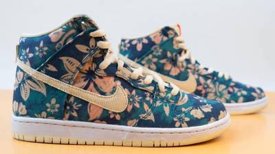 Nike SB Dunk High Hawaii First Look Side