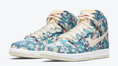 Nike SB Dunk High Hawaii Front