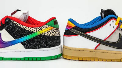 Nike SB Dunk Low What The P-Rod Back Side