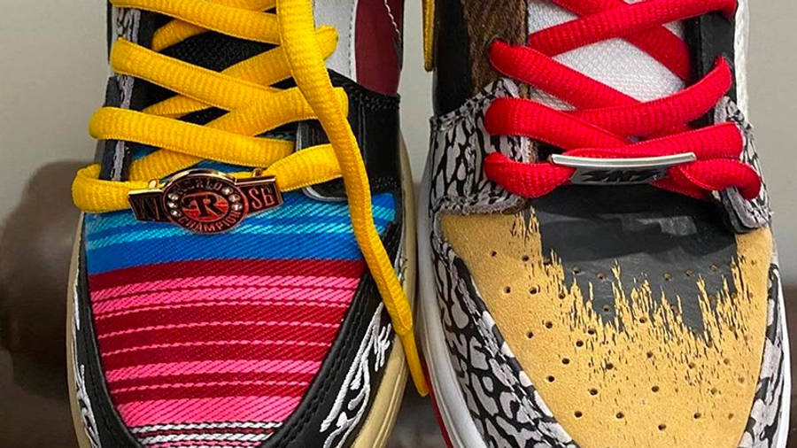 Nike SB Dunk Low What The P-Rod First Look Front Top