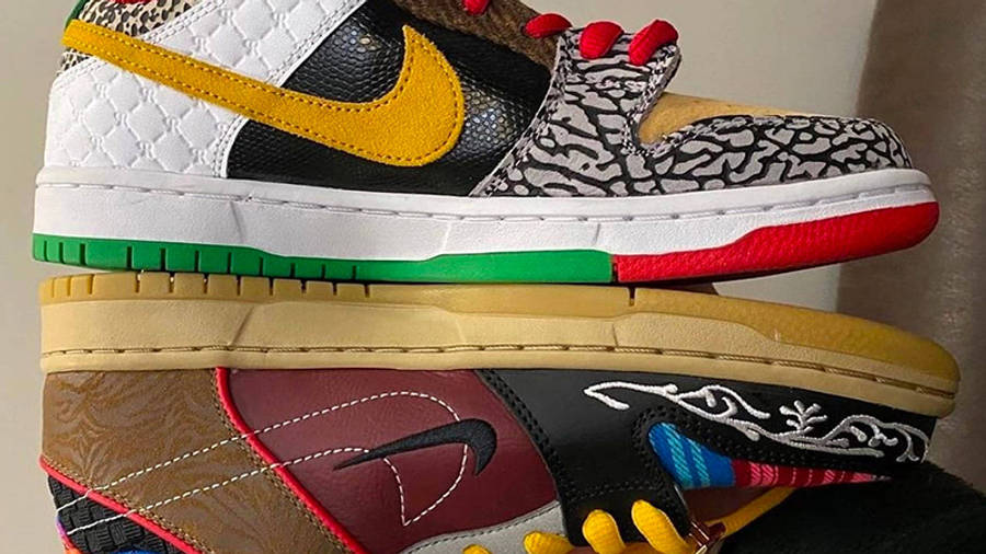 Nike SB Dunk Low What The P-Rod First Look SIde