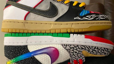 Nike SB Dunk Low What The P-Rod First Side 1