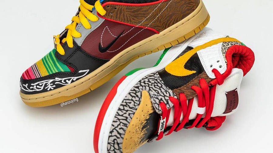 Nike SB Dunk Low What The P-Rod Side