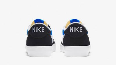 Nike SB Heritage Vulc Skate Black Blue CD5010-004 back