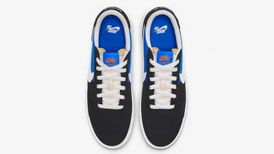 Nike SB Heritage Vulc Skate Black Blue CD5010-004 middle