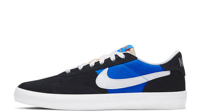 Nike SB Heritage Vulc Skate Black Blue CD5010-004