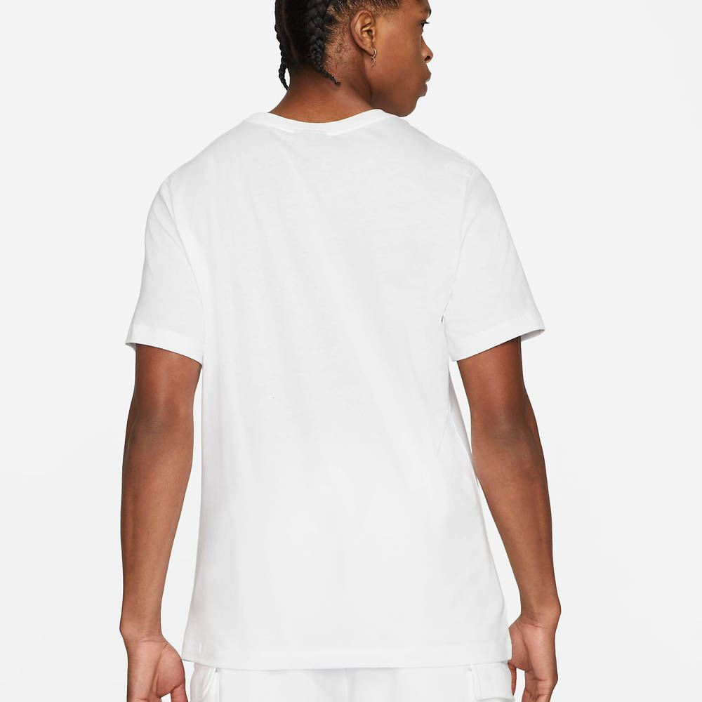 Nike Sportswear Court T-Shirt White Back