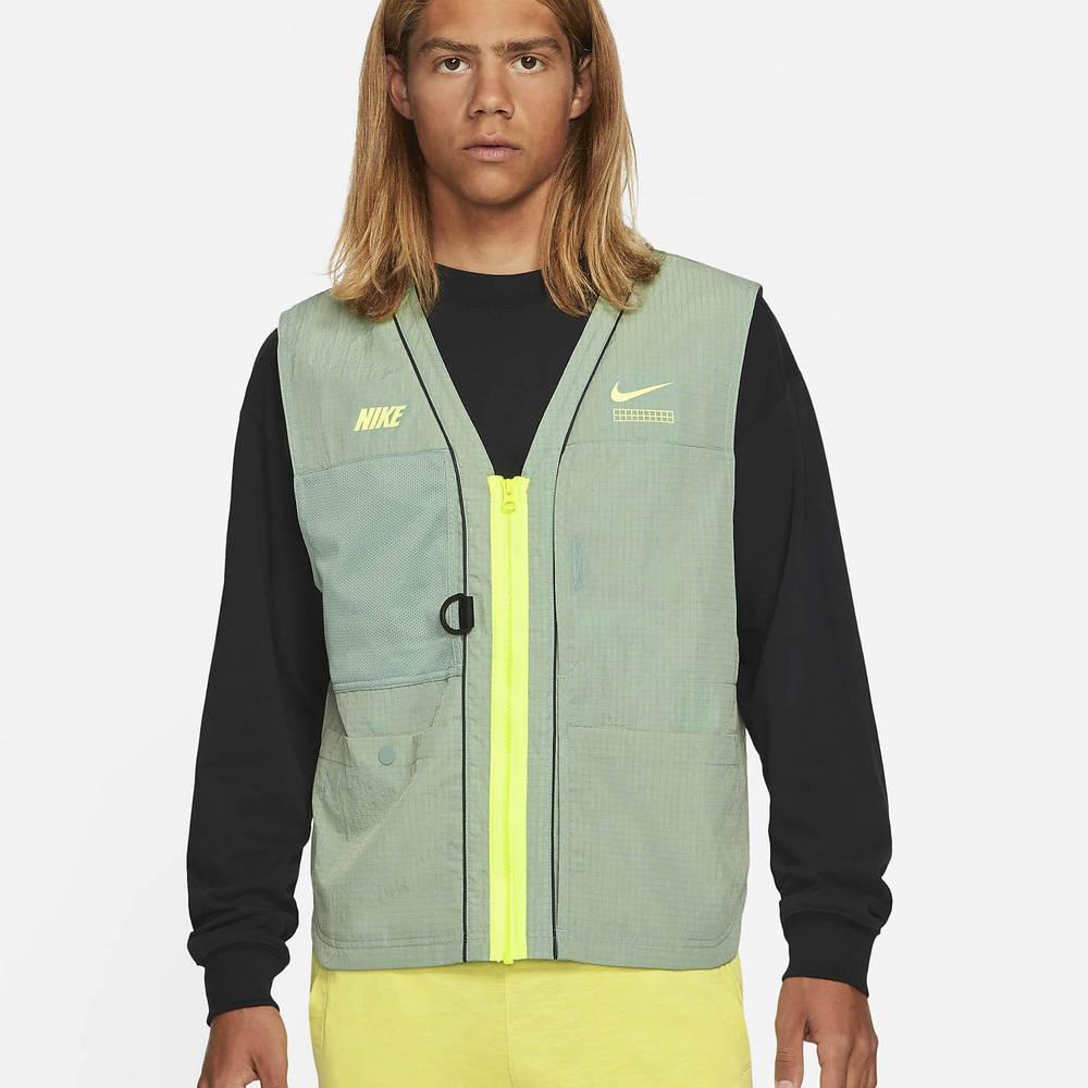 Nike Sportswear DNA Woven Gilet Pine Green
