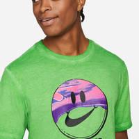 Nike Sportswear T-Shirt Mean Green Closeup