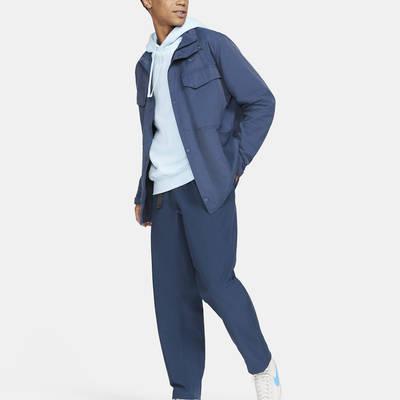 Nike Sportswear Woven M65 Jacket Blue CZ9922-410 Back Full