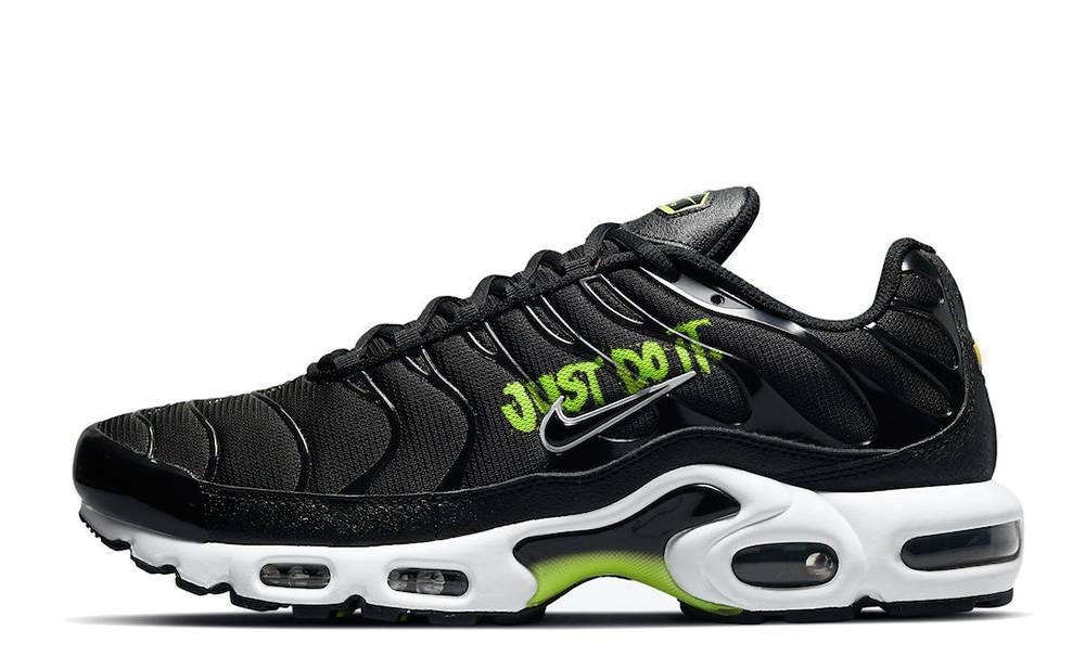 Nike TN Air Max Plus Just Do It Black Volt | Where To Buy | DJ6876 ...